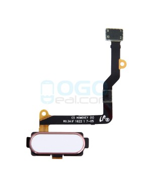 Back Home Button Flex Cable Replacement for Samsung Galaxy C5 Pink