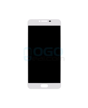 LCD & Digitizer Touch Screen Assembly Replacement for Samsung Galaxy C7 - White