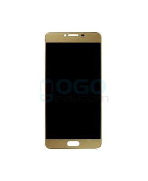 LCD & Digitizer Touch Screen Assembly Replacement for Samsung Galaxy C7 - Gold