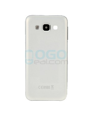 Battery Door/Back Cover Replacement for Samsung Galaxy E5 - White