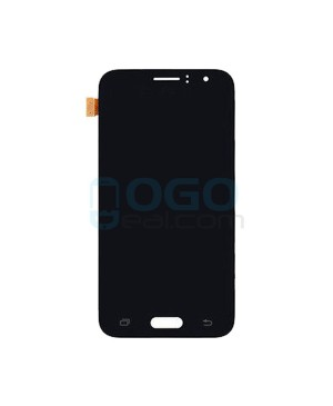 LCD & Digitizer Touch Screen Assembly Replacement for Samsung Galaxy J1 2016 J120 - Black