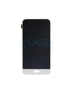 LCD & Digitizer Touch Screen Assembly Replacement for Samsung Galaxy J1 2016 J120 - White