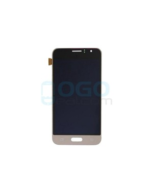 LCD & Digitizer Touch Screen Assembly Replacement for Samsung Galaxy J1 2016 J120 - Gold