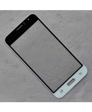 Front Outer Screen Glass Lens Replacement for Samsung Galaxy J1 2016 J120 - White