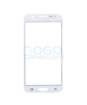 Front Outer Screen Glass Lens Replacement for Samsung Galaxy J2 - White