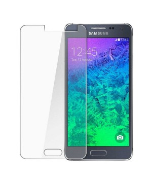 Samsung Galaxy Alpha Tempered Glass Screen Protector Film Guard 9H With retail Packing Box