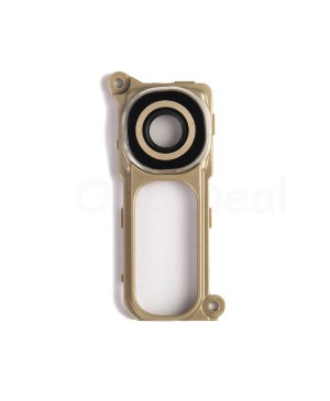 LG G4 Rear Camera Lens Glass Cover with holder Ring- Gold