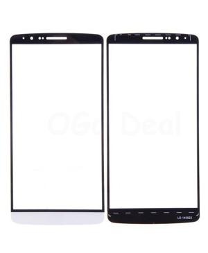 LG G3 Front Glass, White