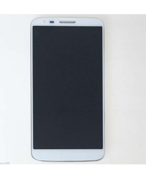 LCD & Digitizer Touch Screen Assembly With Frame for LG G2 D800 - White