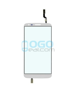 Digitizer Touch Glass Panel Replacement for LG G2 D801 T-Mobile White
