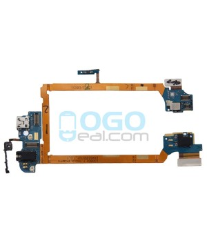 Charging Dock Port Flex Cable Replacement for lg G2 D802