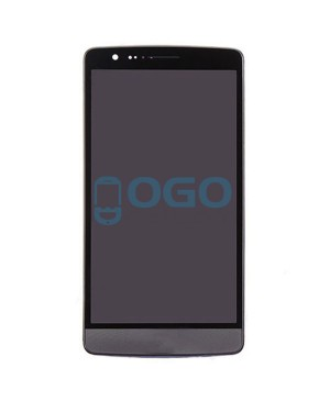 LCD & Digitizer Touch Screen Assembly With Frame replacement for lg G3 S Beat D722 - Black