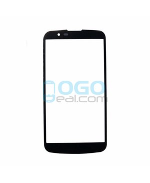 Front Outer Screen Glass Lens Replacement for lg K7 - Black