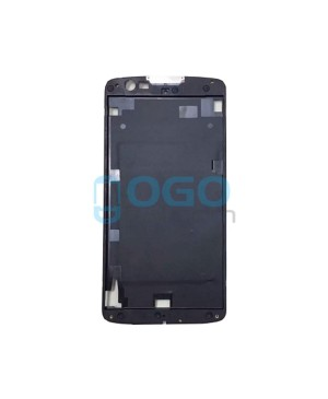 Front Housing Bezel Replacement for lg K7 - Black