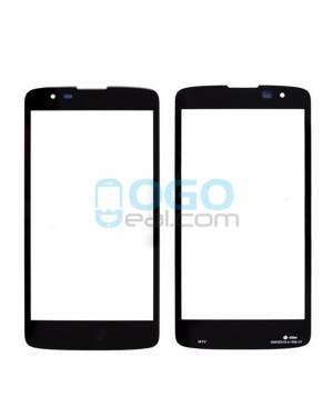 Front Outer Screen Glass Lens Replacement for lg K8 - Black