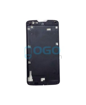 Front Housing Bezel Replacement for lg K8 - Black