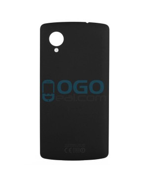 OEM Battery Door/Back Cover Replacement for lg Nexus 5 D820 D821 - Black