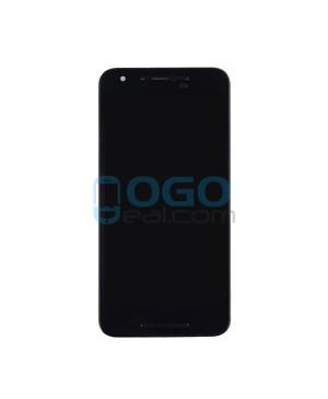 LCD & Digitizer Touch Screen Assembly with frame Replacement for Google Nexus 5X - Black
