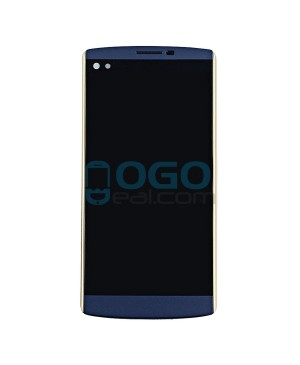 LCD & Digitizer Touch Screen Assembly With Frame for lg V10 H900 H901 VS990 - Blue