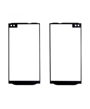 Front Outer Screen Glass Lens Replacement for lg V10 - Black