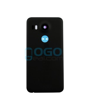 Battery Door/Back Cover Replacement for Google Nexus 5X - Black