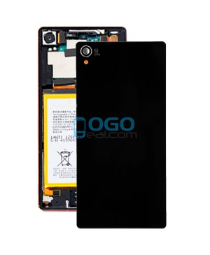 Battery Door/Back Cover Replacement for Sony Xperia Z3 Black Ori