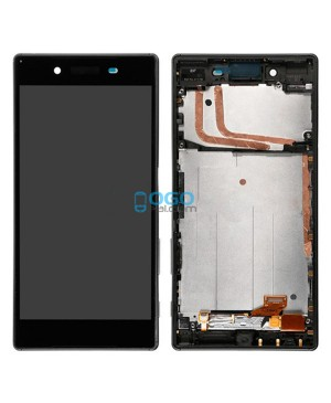 For Sony Xperia Z5 LCD & Touch Screen Assembly With Frame Replacement- Black