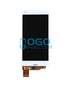 For Sony Xperia Z3 Compact/Z3 Mini LCD & Touch Screen Assembly Replacement - White