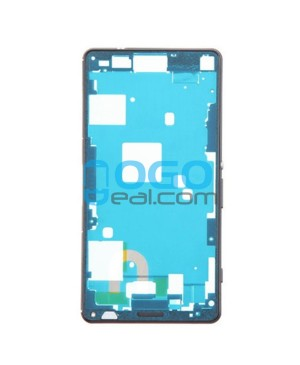 Front Housing Bezel Replacement for Sony Xperia Z3 Compact/Z3 Mini - Black