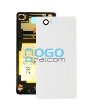Battery Door/Back Cover Replacement for Sony Xperia Z3 Compact/Z3 Mini White Ori