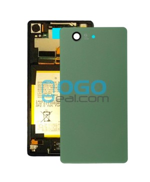 Battery Door/Back Cover Replacement for Sony Xperia Z3 Compact/Z3 Mini Green