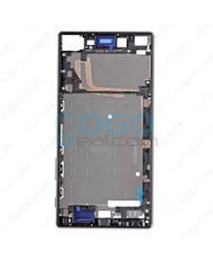 Front Housing Bezel Replacement for Sony Xperia Z5 Premium - Black