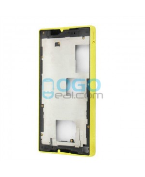 Front Housing Bezel Replacement for Sony Xperia Z5 Compact/Mini - Yellow