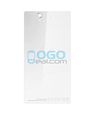 Battery Door/Back Cover Replacement for Sony Xperia Z L36H White Ori