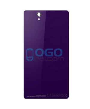 Battery Door/Back Cover Replacement for Sony Xperia Z L36H - Purple Ori