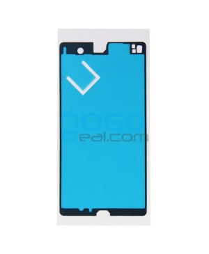 Front Housing Adhesive Sticker Replacement for Sony Xperia Z L36H