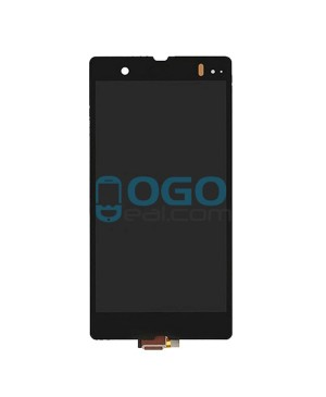 For Sony Xperia Z L36H LCD & Touch Screen Assembly Replacement - Black