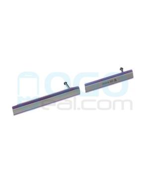 Micro SD & USB Anti Dust Plug Cap Cover for Sony Xperia Z2 - Purple