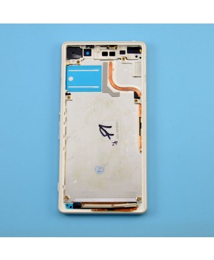 Front Housing Bezel Replacement for Sony Xperia Z2 - White