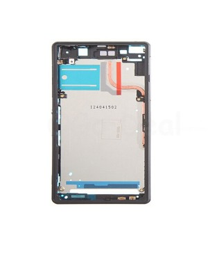 Front Housing Bezel Replacement for Sony Xperia Z2 - Black