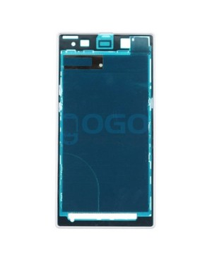 Front Housing Bezel Replacement for Sony Xperia Z1 L39H - White