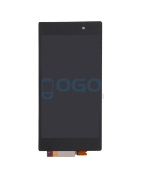 For Sony Xperia Z1 L39H LCD & Touch Screen Assembly Replacement - Black