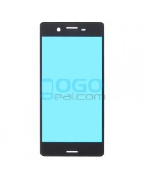 Front Glass Lens Replacement for Sony Xperia X Performance - Black,OEM