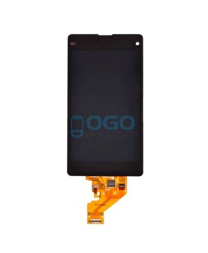 For Sony Xperia Z1 Compact/Z1 Mini LCD & Touch Screen Assembly Replacement - Black