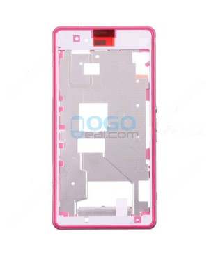 Front Housing Bezel Replacement for Sony Xperia Z1 Compact/Z1 Mini - Pink