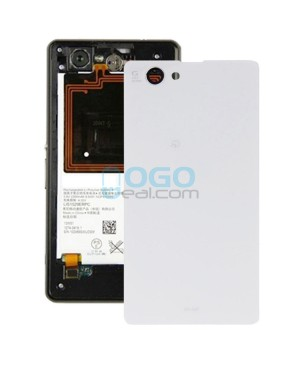Battery Door/Back Cover Replacement for Sony Xperia Z1 Compact/Z1 Mini White Ori
