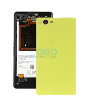 Battery Door/Back Cover Replacement for Sony Xperia Z1 Compact/Z1 Mini Yellow