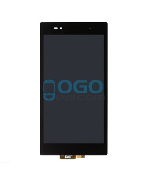 For Sony Xperia Z Ultra XL39H LCD & Digitizer Touch Screen Assembly Replacement - Black