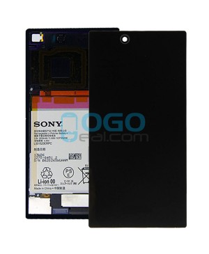 Battery Door/Back Cover Replacement for Sony Xperia Z Ultra XL39H Black
