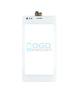 Digitizer Touch Glass Panel Replacement for Sony Xperia M C1905 White
